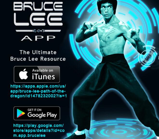 Bruce Lee App Released